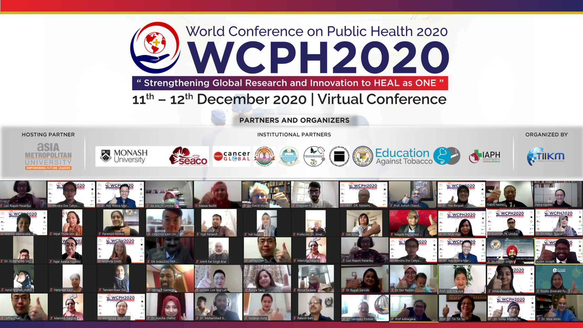 World Conference on Public Health 2021